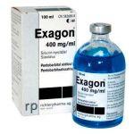 EXAGON 400 MG/ML 100 ML INY